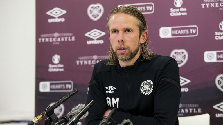 Austin MacPhee: Not right time to discuss my future at Hearts