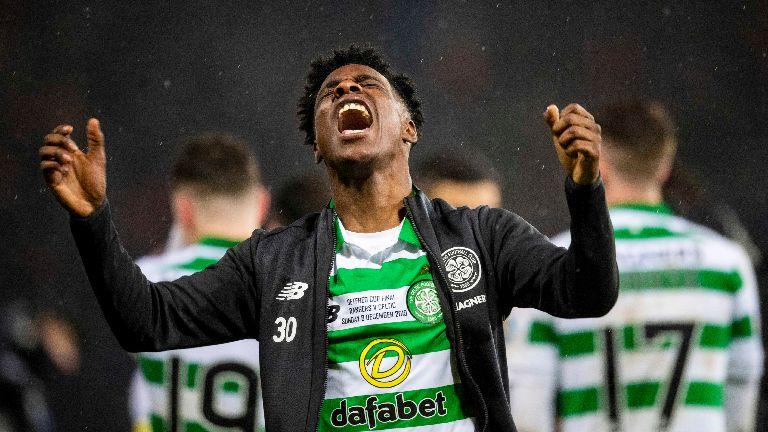 Celtic's Frimpong: I was panicking after Hampden red card
