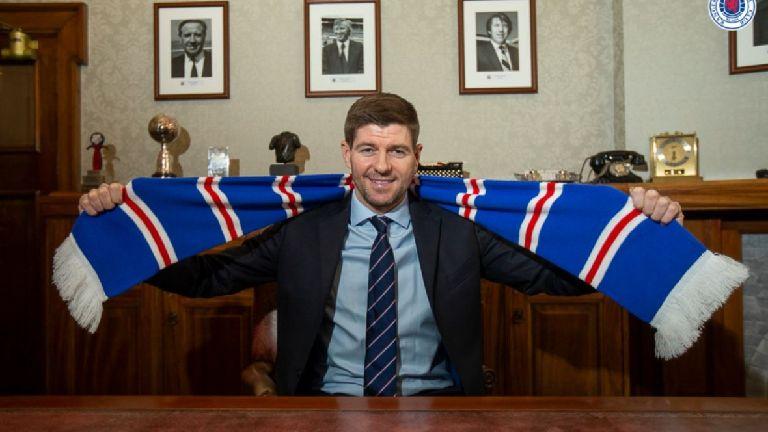 Rangers confirm Steven Gerrard's new contract at Ibrox