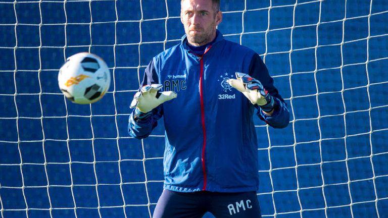 Rangers goalkeeper Allan McGregor signs contract extension