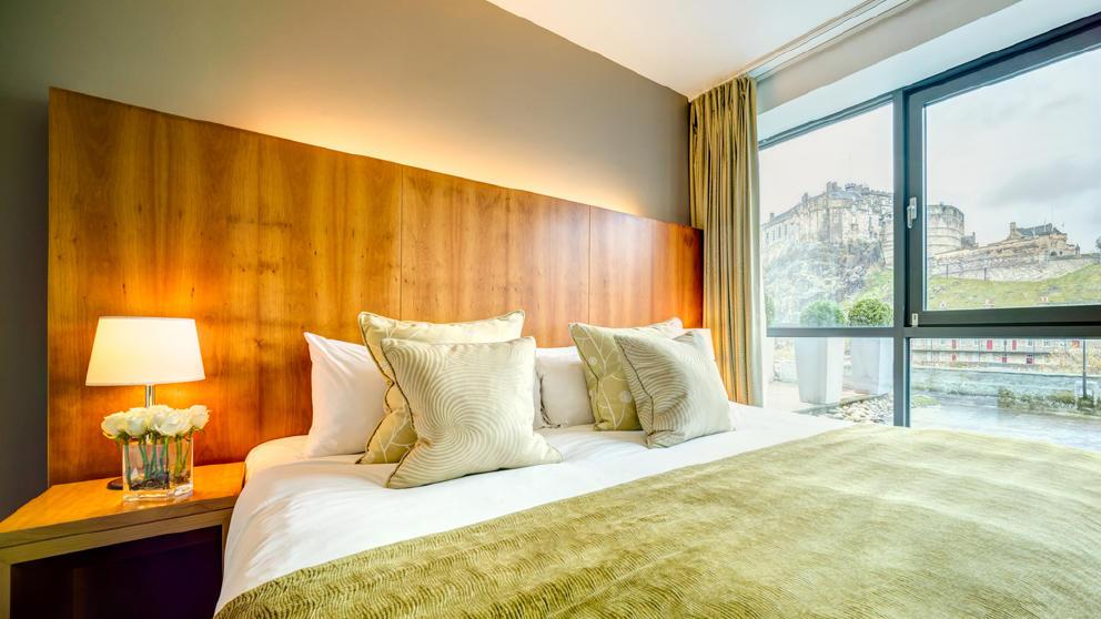 Apex Hotel Room Grassmarket