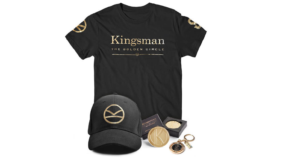 Kingsman Goodie Bag Updated