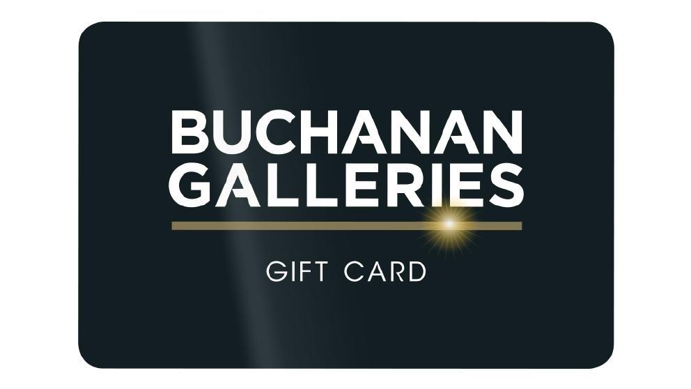 Buchanan Galleries Gift Card Gold