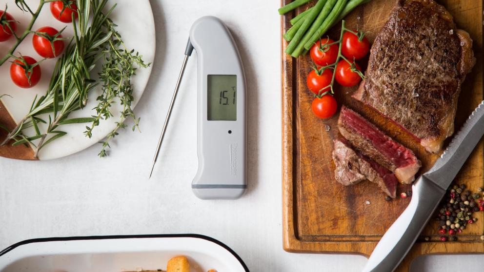 Steak and thermapen