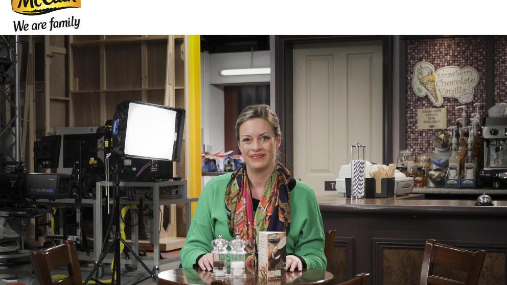 Sharon Marshall has got the tea ready!