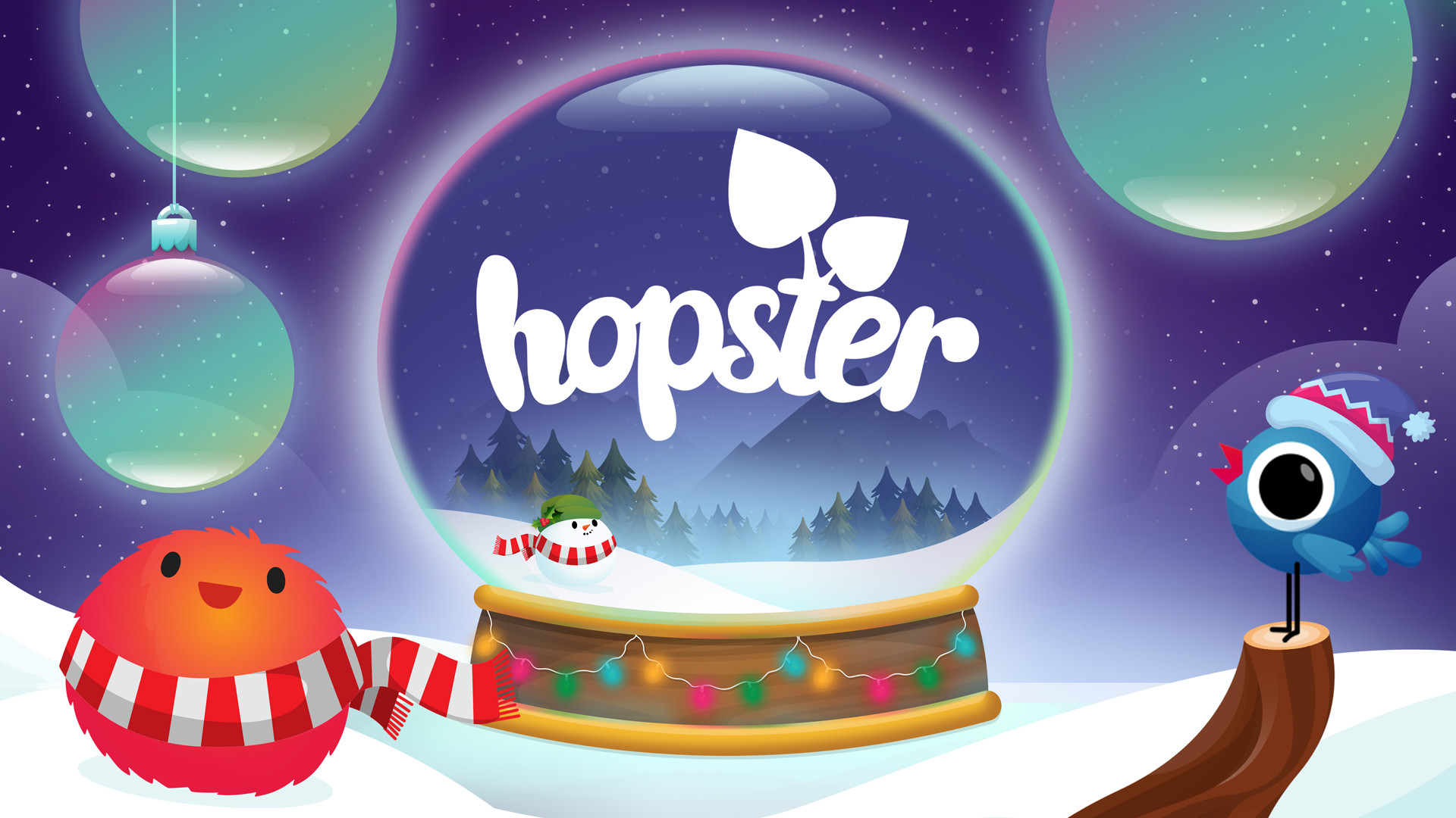 Christmas with Hopster