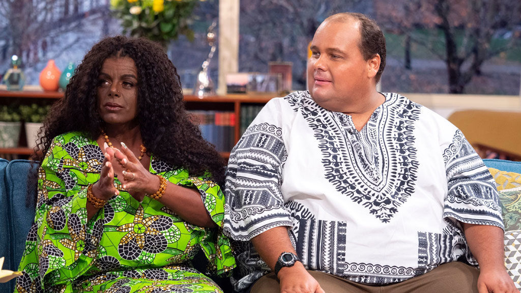 Martina Big is here with her new husband!