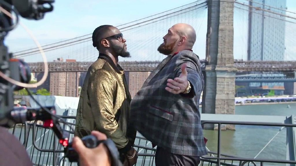 Wilder v Fury 1: First Fight Replay Highlights