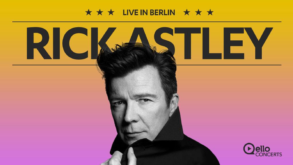 Rick Astley - Berlin Live 2016