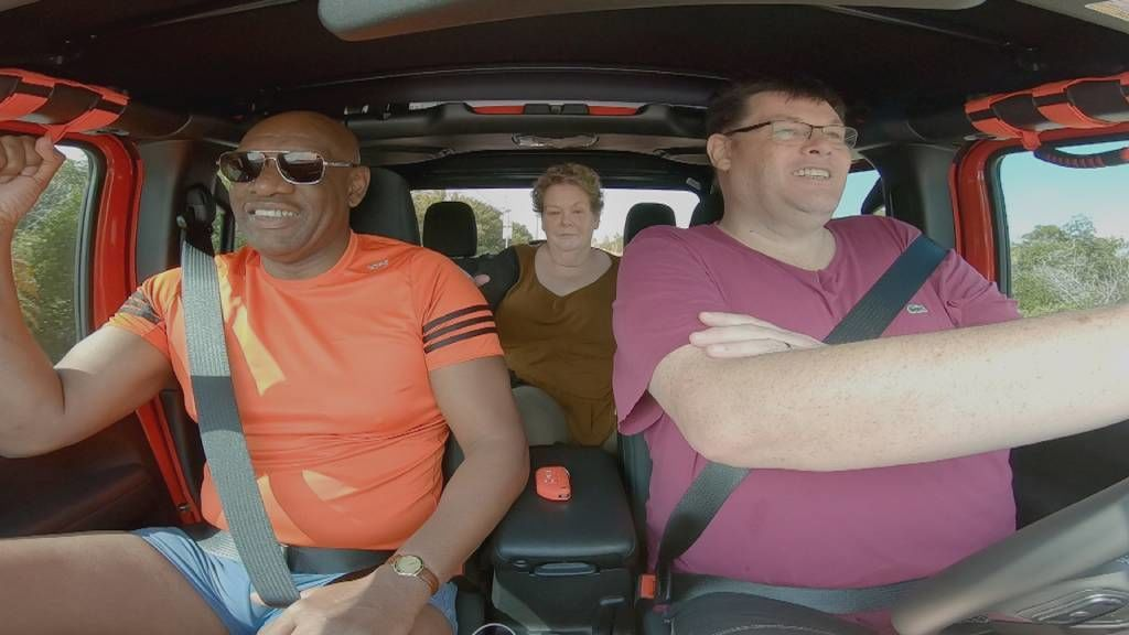 The Chasers Road Trip: Trains, Brains and Automobiles