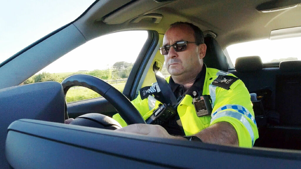 Beyond the Line: North Wales Traffic Cops