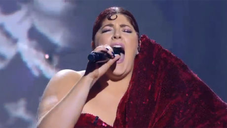The Chase's Jenny Ryan sings a Christmas classic