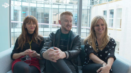 Samia Ghadie, Mikey North and Tina O'Brien Interview