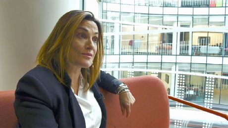 Sarah Parish talks about her role in Bancroft