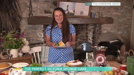 Alison O'Neill's Victoria sponge cake