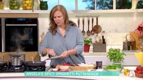 Angela Hartnett's spaghetti alla puttanesca