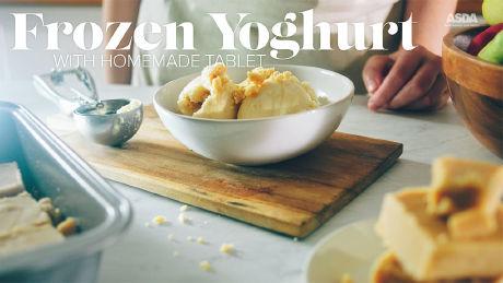 Advertorial: ASDA Scottish Recipes - Frozen Yoghurt with Homemade Tablet