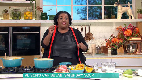 Alison's Caribbean 'Saturday' Soup