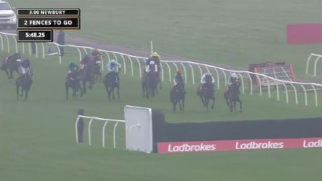 Cloth Cap wins the Ladbrokes Trophy Chase