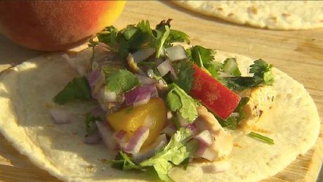 Rob Nixon's BBQ fish tacos