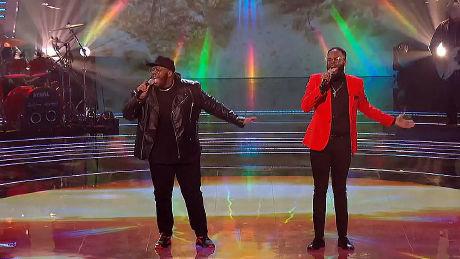 Jordan & Wesley perform 'The Climb'