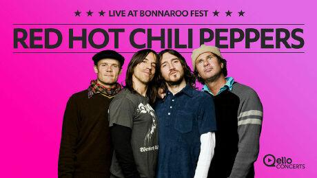 Red Hot Chilli Peppers - Bonaroo Fest