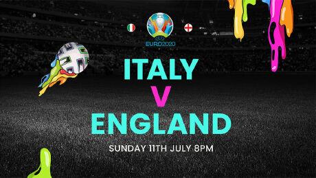 Italy v England. Sun 11 Jul, 6.30 pm