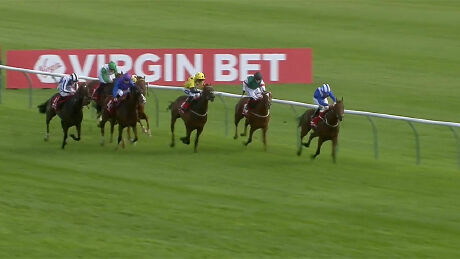 Maydanny wins the Virgin Bet Doonside Cup Stakes