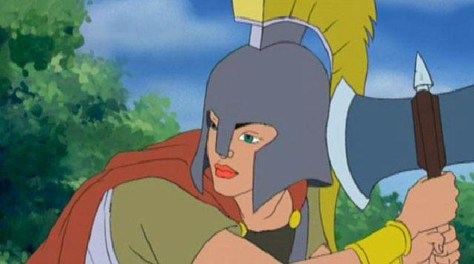 Mythic Warriors - Andromeda - Warrior Princess