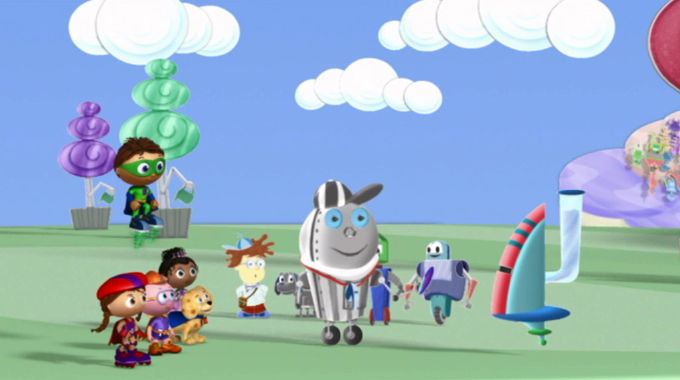 Super Why! - The Great Robot Race