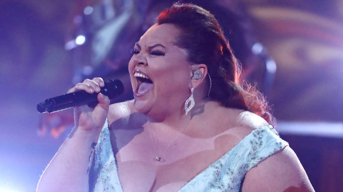 The X Factor - Keala Settle performs This Is Me