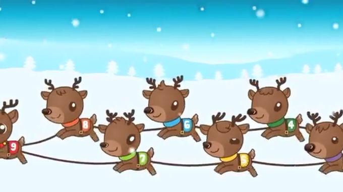 Kiboomu - 9 Little Reindeer