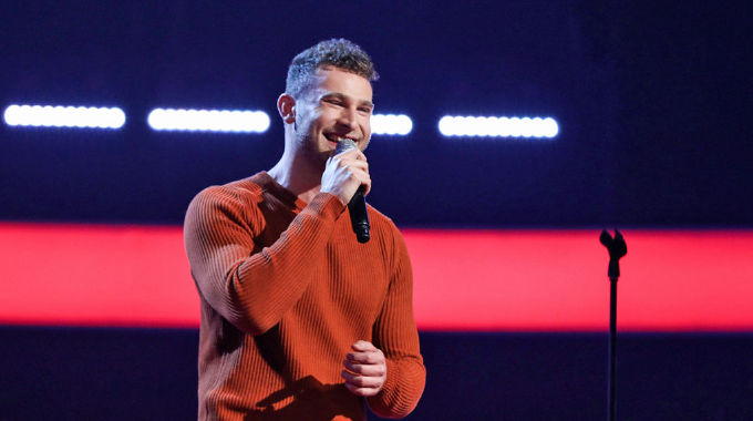 The Voice UK - The Voice Show 7: Kieron Smith sings Drops Of Jupiter