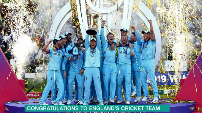 This Morning - Congratulations to England's cricket team