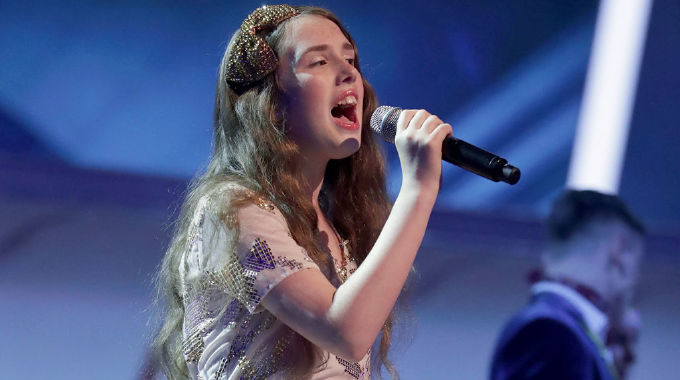 The Voice Kids - The Voice Kids 2019: Show 8 - Gracie-Jayne sings Feeling Good