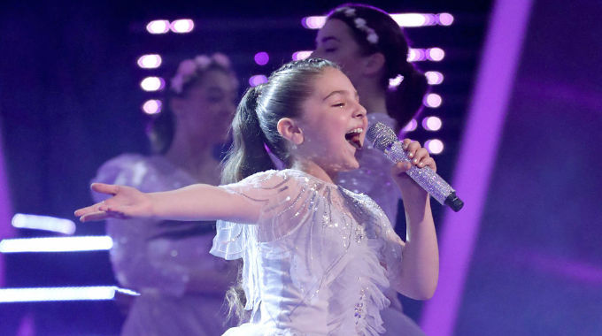 The Voice Kids - The Voice Kids 2019: Show 8 - Keira sings Can You Feel The Love Tonight?