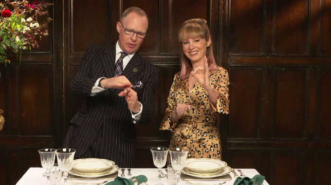 What's On Scotland - STV's Laura Boyd gets a Downton-style etiquette lesson