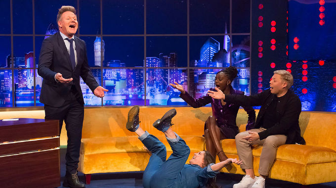The Jonathan Ross Show - Sat 12 Oct, 10.05 pm